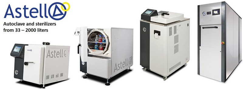 Astell autoclave
