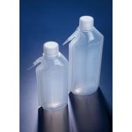 Pack of 5 Wash Bottle Isopropanol Plastic 250 Slope Shoulder AZLON WGF533P Blue